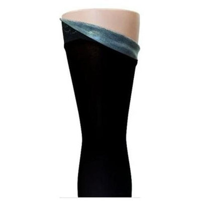 Sigvaris Soft Opaque 15-20 mmHg Closed Toe Thigh High Sock - Size: Large Long (LL), Color: Espresso 89