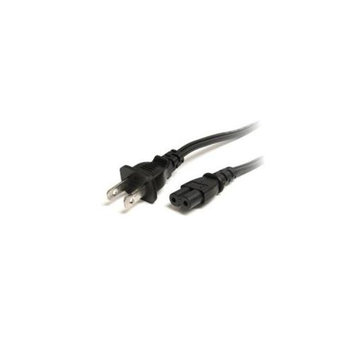 StarTech PXT101NB3 Cable 3feet Standard Laptop Power Cord NEMA 1-15P to C7 Retail