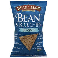 Beanfields Sea Salt Bean & Rice Chips, 6 oz, (Pack of 12)