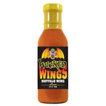 Hot Sauce Harry's Hot Sauce Harrys HSH1411 HSH Wicked Wings BUFFALO WINGS Sauce - 12oz