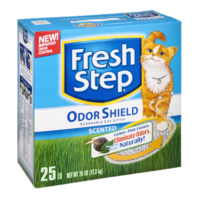 Fresh Step Scoopable Cat Litter Scented Odor Shield