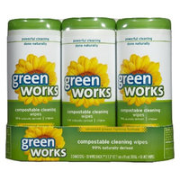 Green Works Original Scent Compostable Cleaning Wipes 30 ct, 3 pk