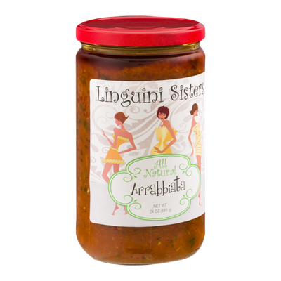 Linguini Sisters All Natural Arrabbiata