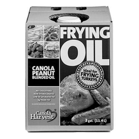 Richardson Oilseed Ltd 0011110270 3 gal. Canola Peanut Blend Frying Oil