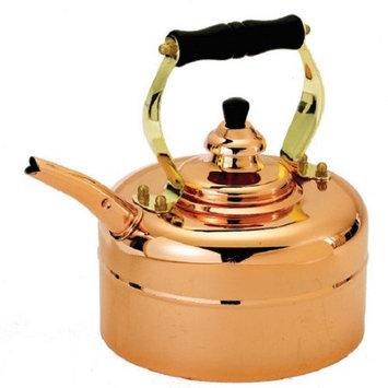 Old Dutch International Copper 3 Qt Tri Ply Windsor Whistling Tea Kettle HHK0TPKO7-0408