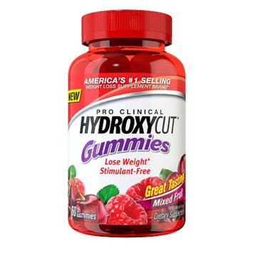 Hydroxycut Pro Clinical Weight Loss Gummies Mixed Fruit