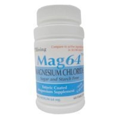 Generic Slow Mag Magnesium Chloride 64 Mg Enteric Coated Tablets - 60 Ea