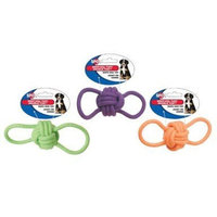 ETHICAL PRODUCTS 773536 Knot-ical Tuff Ball Double Tug Dog Toy, 8-Inch