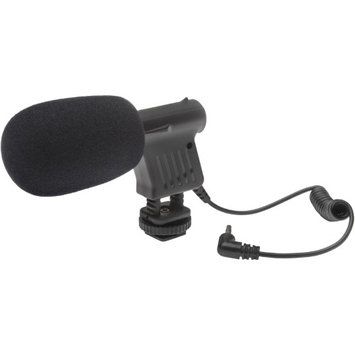 Mela Mount Melamount Mini Condenser Microphone for DSLRs Camcorders & Video Cameras