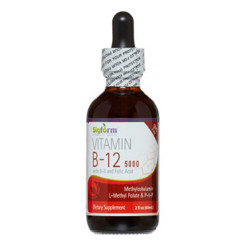 Vitamin B12 5,000 Sigform 2 oz Liquid