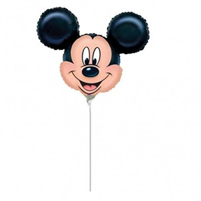 M and D Mickey Mouse Head Mini Shape Balloon