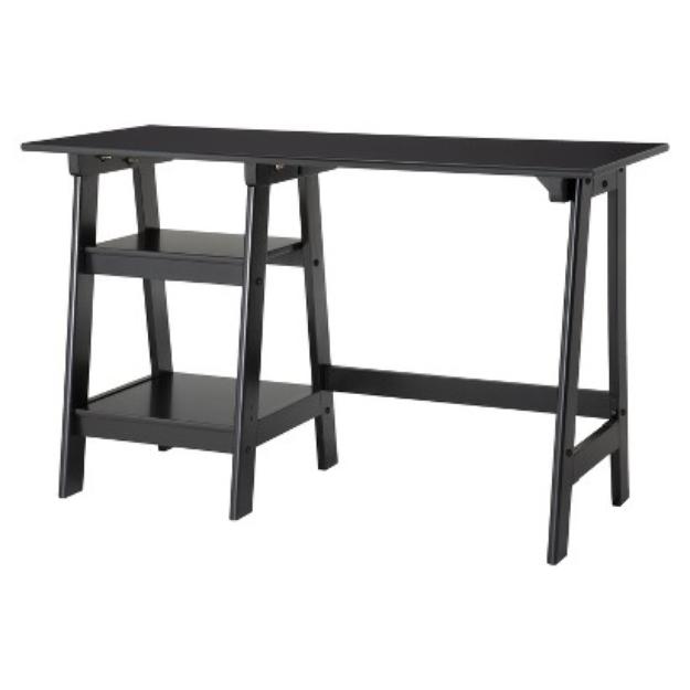 P Products Writing Desk: Braxton Trestle Desk