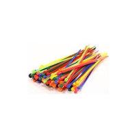 INTEGY C23386COLOR Mxd Clr Plastc Tie Wrap/Cable Tie Small (10 INTC0176
