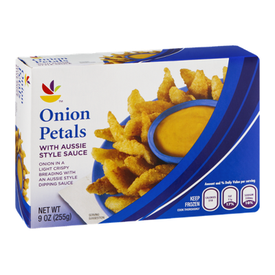 Ahold Onion Petals with Aussie Style Sauce