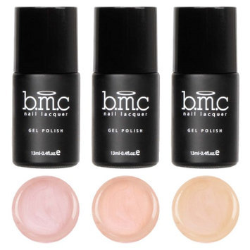 Guangzhou Yushengsha Industrial Co., Ltd BMC 3pc Cream Finished Nude Colored Gel Lacquer Polishes - Au Naturel Collection