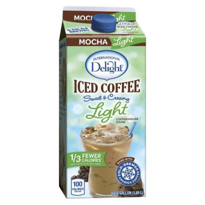 White Wave/Horizon International Delight Light Mocha Iced Coffee 64 oz