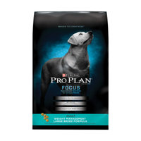 Purina Pro Plan PurinaA Pro PlanA Large Breed Weight Management Adult Dog Food