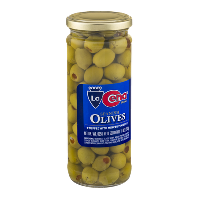 La Cena Spanish Olives Stuffed with Minced Pimiento