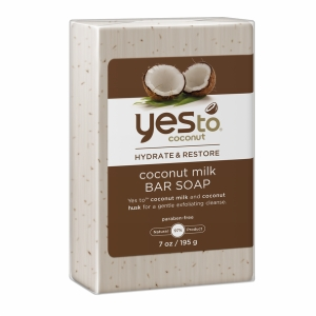 Yes To Coconut Yes to Coconut Hydrate & Restore Coconut Milk Bar Soap, 7 oz