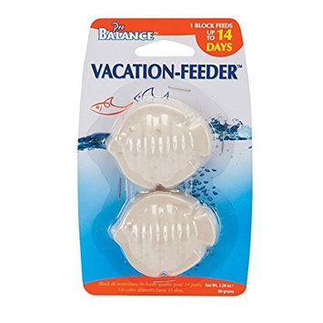 Penn-plax Pro Balance® Betta Vacation Feeding Blocks, Fish Shape