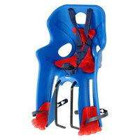 Cycle Force Bellelli Rabbit Baby Carrier - Black/ Red