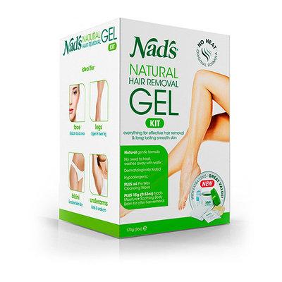 Nad's Natural Hair Removal Gel Wax Kit
