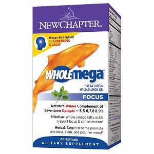 New Chapter Wholemega Focus Fish Oil