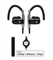 Able Planet Clear Harmony Sport Earphones SP1150 w/Mic and Apple Controller
