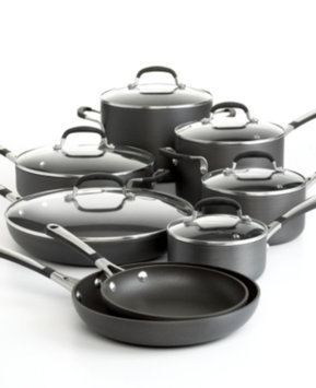 Calphalon Simply Calphalon 14-pc. Nonstick Cookware Set