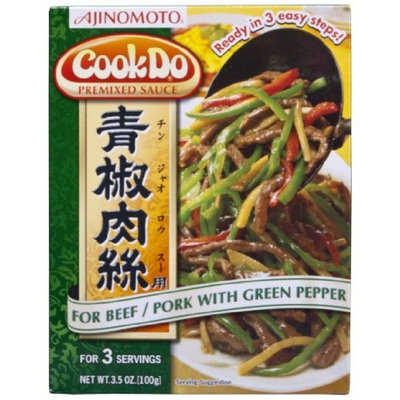 Ajinomoto Cookdo Pork With Green Pepper, 3.5-Ounce Units (Pack of 10)