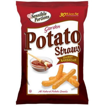 Sensible Portions Potato Straws, BBQ, 1 Ounce (Pack of 24)