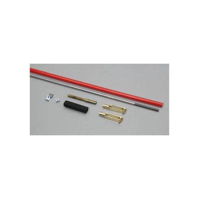 S519 Steel Pushrod 4-40 & Gold'N Clevis 36