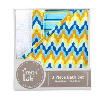 Trend Lab Levi 3-Pack Bath Bundle Box Set