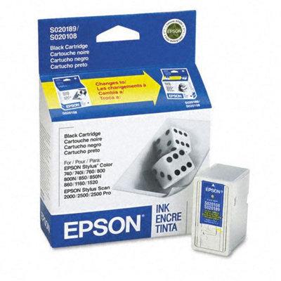 Kmart.com Epson S189108 Inkjet Cartridge, Black