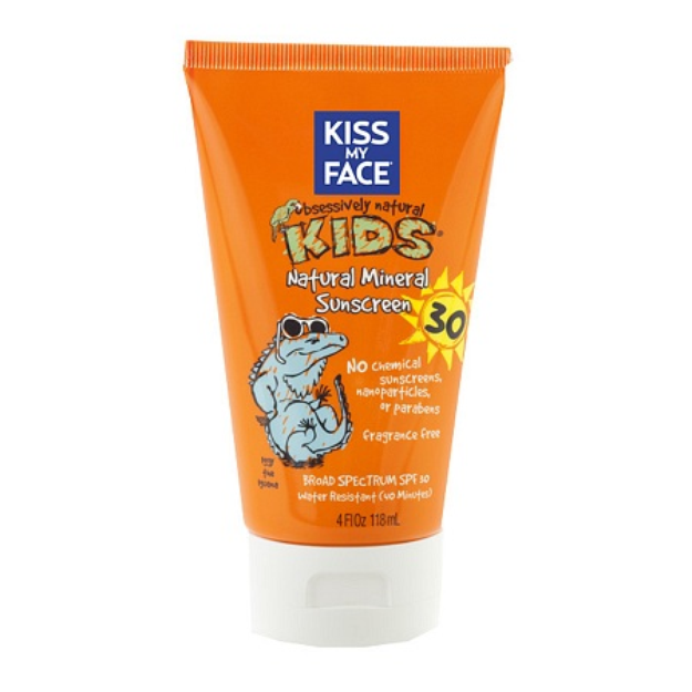 Kiss My Face Kids Natural Mineral Sunblock Lotion