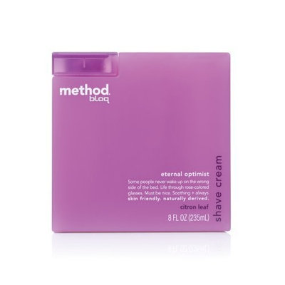 method bloq shave cream eternal optimist