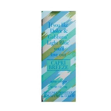 Parfums De Coeur Capri Breeze Cologne Spray for Women, 1 Ounce