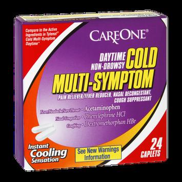 CareOne Cold Multi-Symptom Daytime Non-Drowsy Caplets - 24 CT