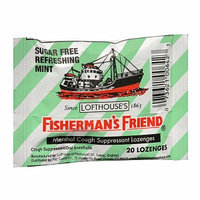 Fisherman's Friend Menthol Cough Suppressant Lozenges