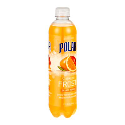Polar Sparkling Frost Sparkling Water Orange Mango