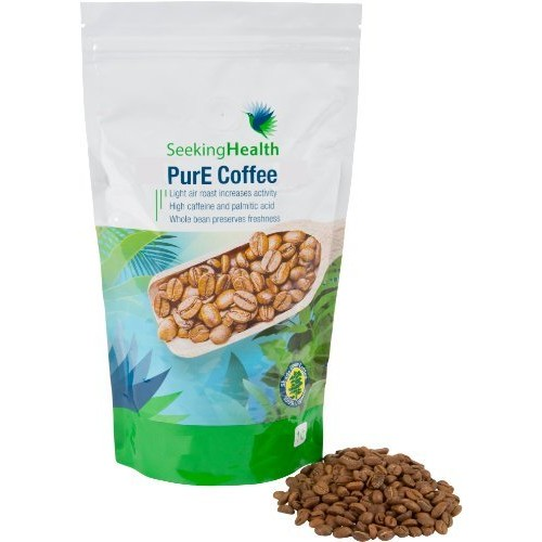 Seeking Health Organic Coffee | PurE Coffee | 1 LB | Air Roasted | Free Of Toxic Substances