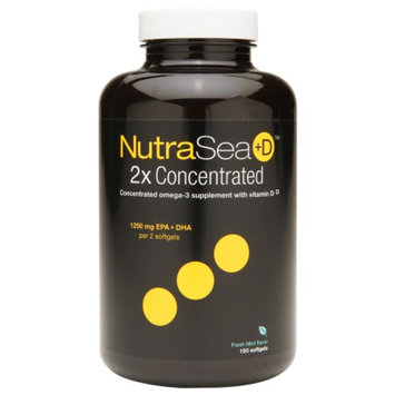 Ascenta NutraSea+D 2x Concentrated Omega-3 Supplement, Softgels Fresh Mint
