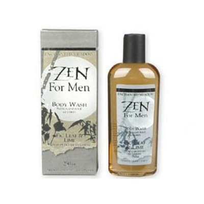 Zen for Men Figleaf   Lime Zen for Men Figleaf & Lime Body Wash by Enchanted Meadow