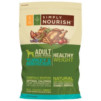 Simply NourishA Healthy Weight Natural Adult Dog Food