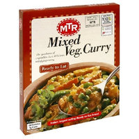 MTR Mixed Vegetable Curry, 10.58-Ounce Boxes, (Pack of 5)