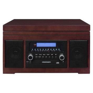 Crosley Radio Cannon CD Recording Entertainment Center - Brown