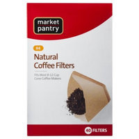 Natural Cone #4 Coffee Filters 40 Count - Market Pantry™