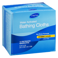 CareOne Pretreated Washcloths - 12 CT
