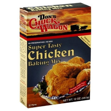 Don's Chuck Wagon Chicken Bake & Fry Mix, 12-Ounce (Pack of 6)