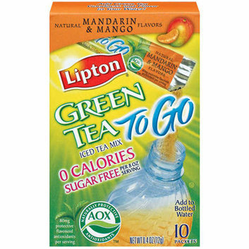 Lipton® Green Tea To Go Mandarin & Mango Sugar Free Iced Tea Mix